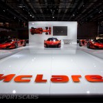 McLaren at Paris Motor show