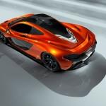 McLaren P1 Paris design concept - above rear
