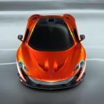 McLaren P1 Paris design concept - front above