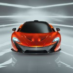 McLaren P1 Paris design concept - front low