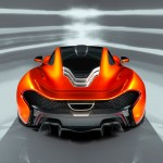 McLaren P1 Paris design concept - rear above