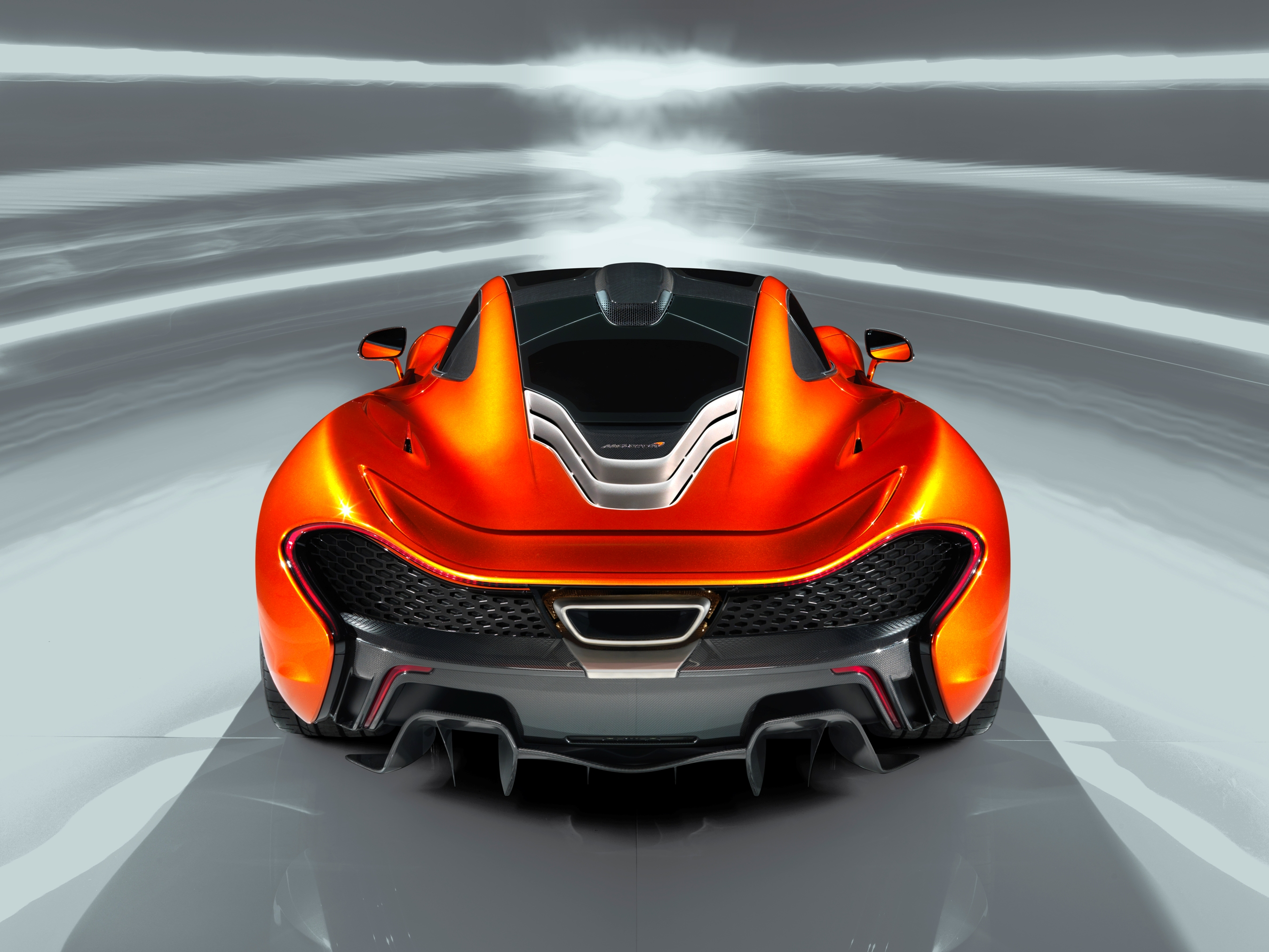 McLaren P1 Paris design concept - rear above