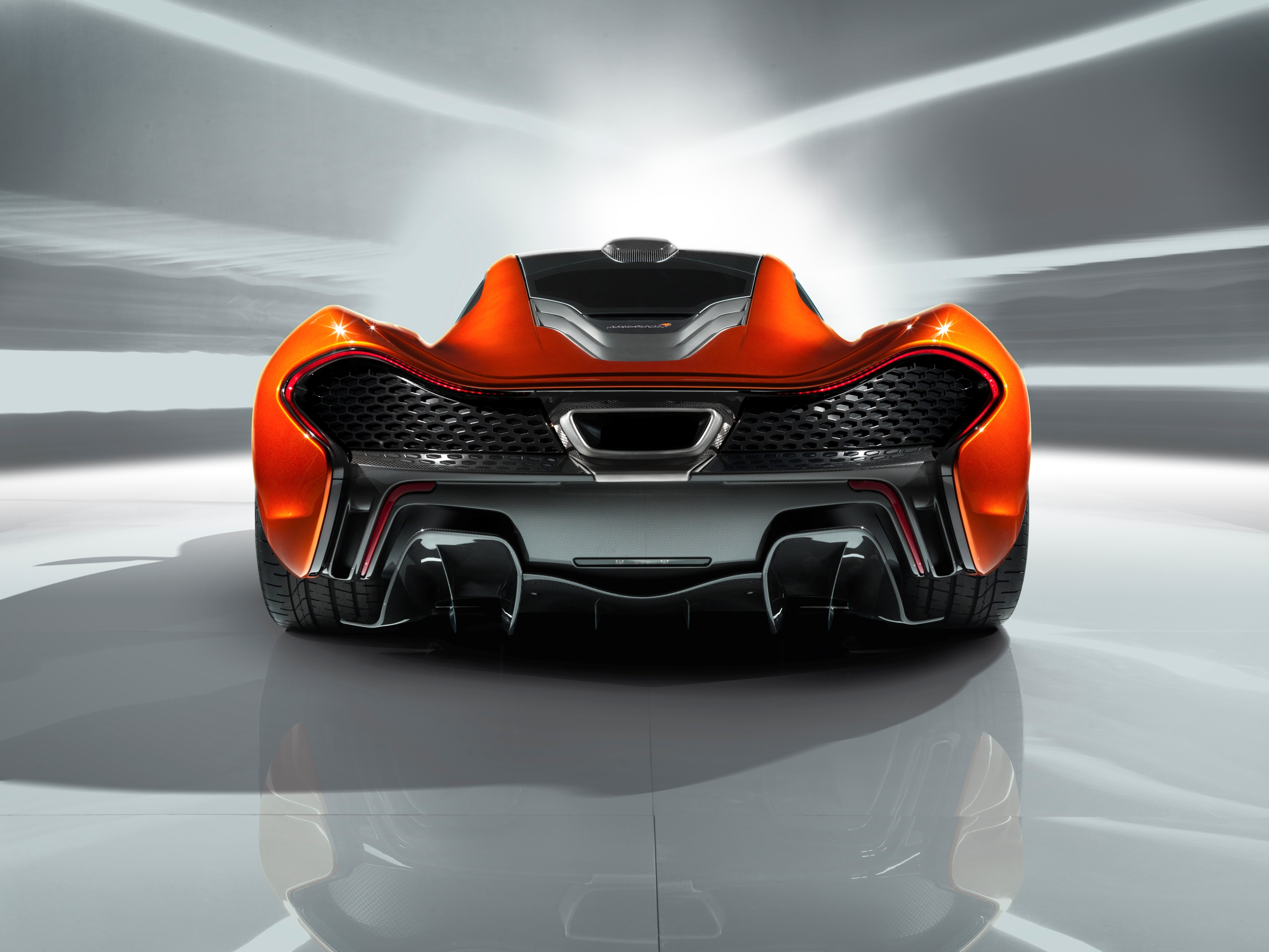 McLaren P1 Paris design concept - rear low detail
