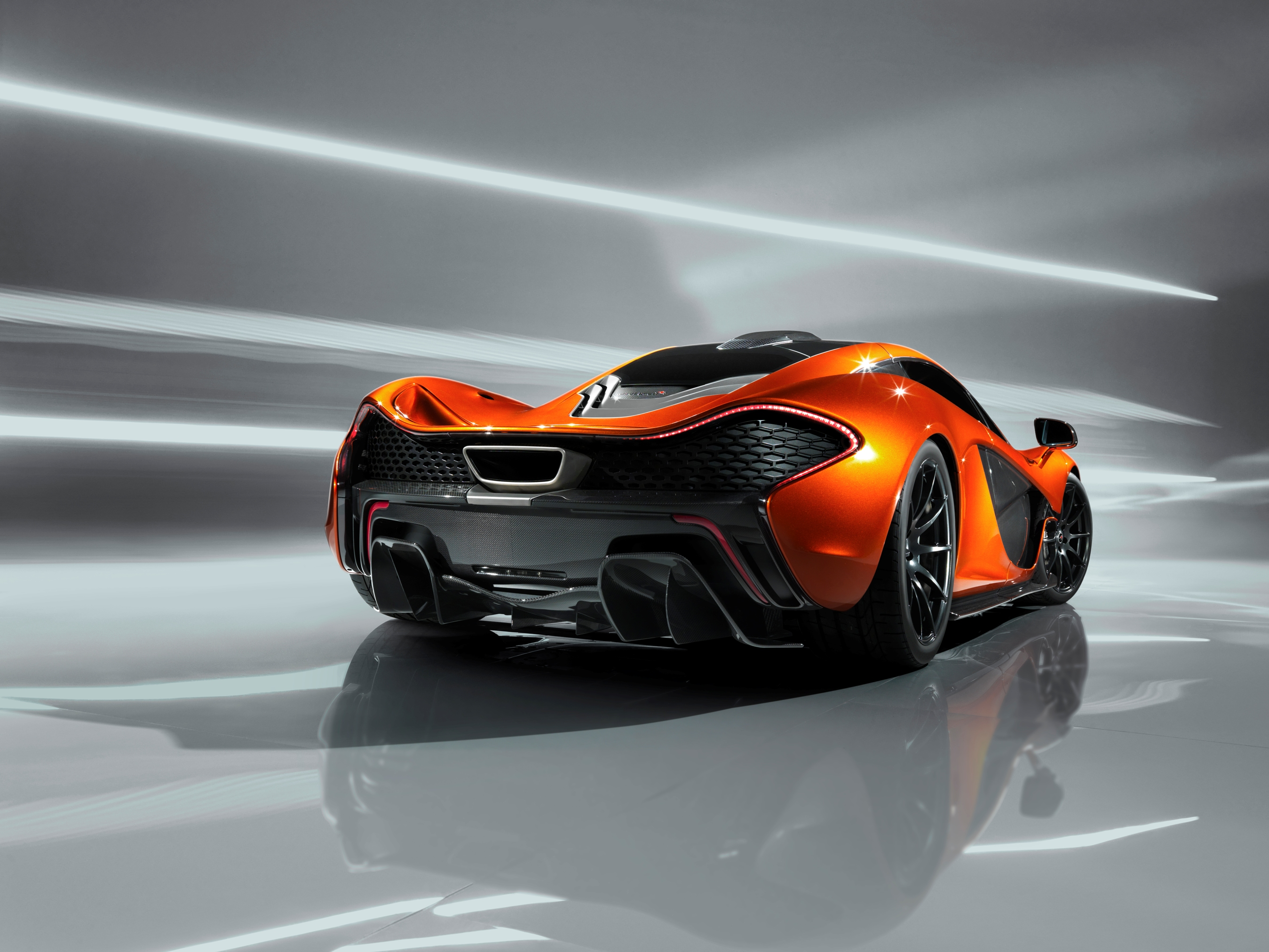 McLaren P1 Paris design concept - rear