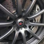 Mclaren MP4-12C White alloy wheel brakes