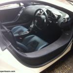 Mclaren MP4-12C White cabin seats wheel