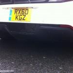 Mclaren MP4-12C White diffuser carbon