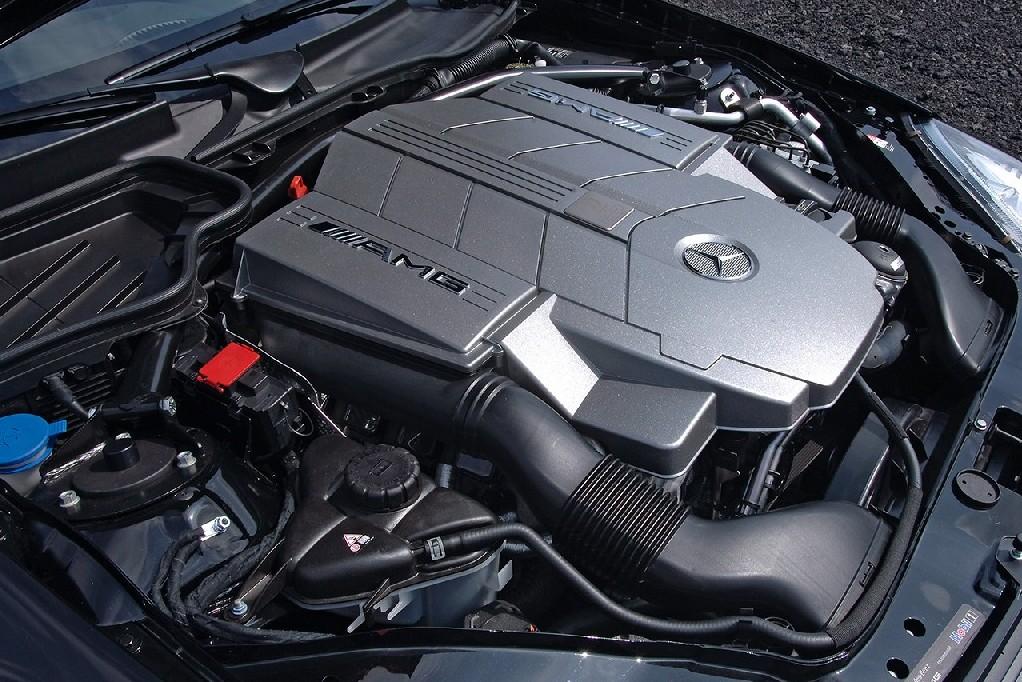 Mercedes Benz SLK 55 AMG F1 5.4 litre V8 355 bhp 376lb ft torque engine