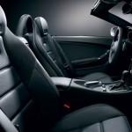 Mercedes Benz SLK 55 AMG F1 Interior black leather airscarf