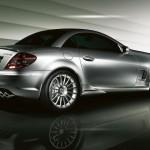 Mercedes Benz SLK 55 AMG F1 SS rear profile