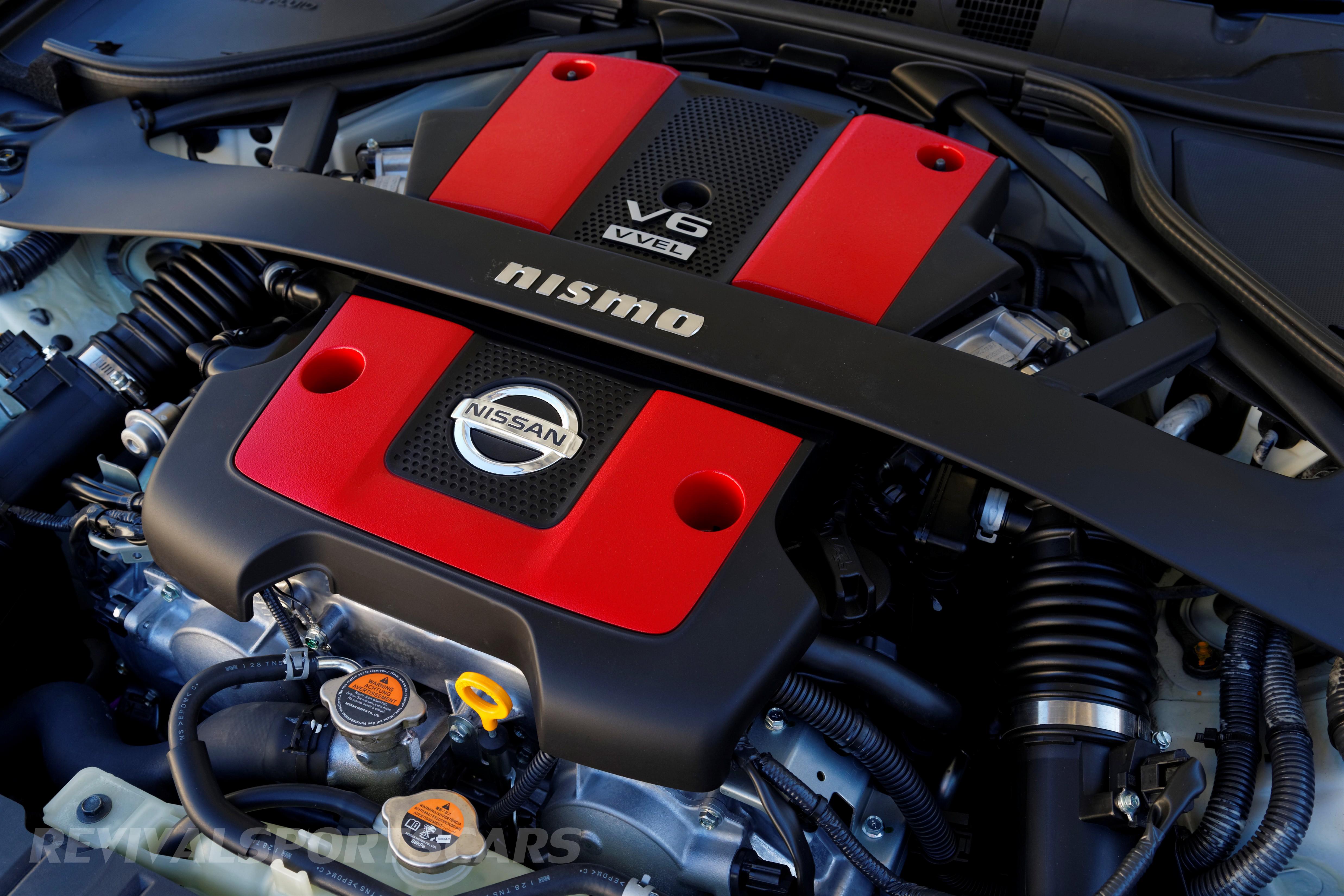 Nismo 370Z UK Edition High Resolution Quality 3.7 litre engine bay
