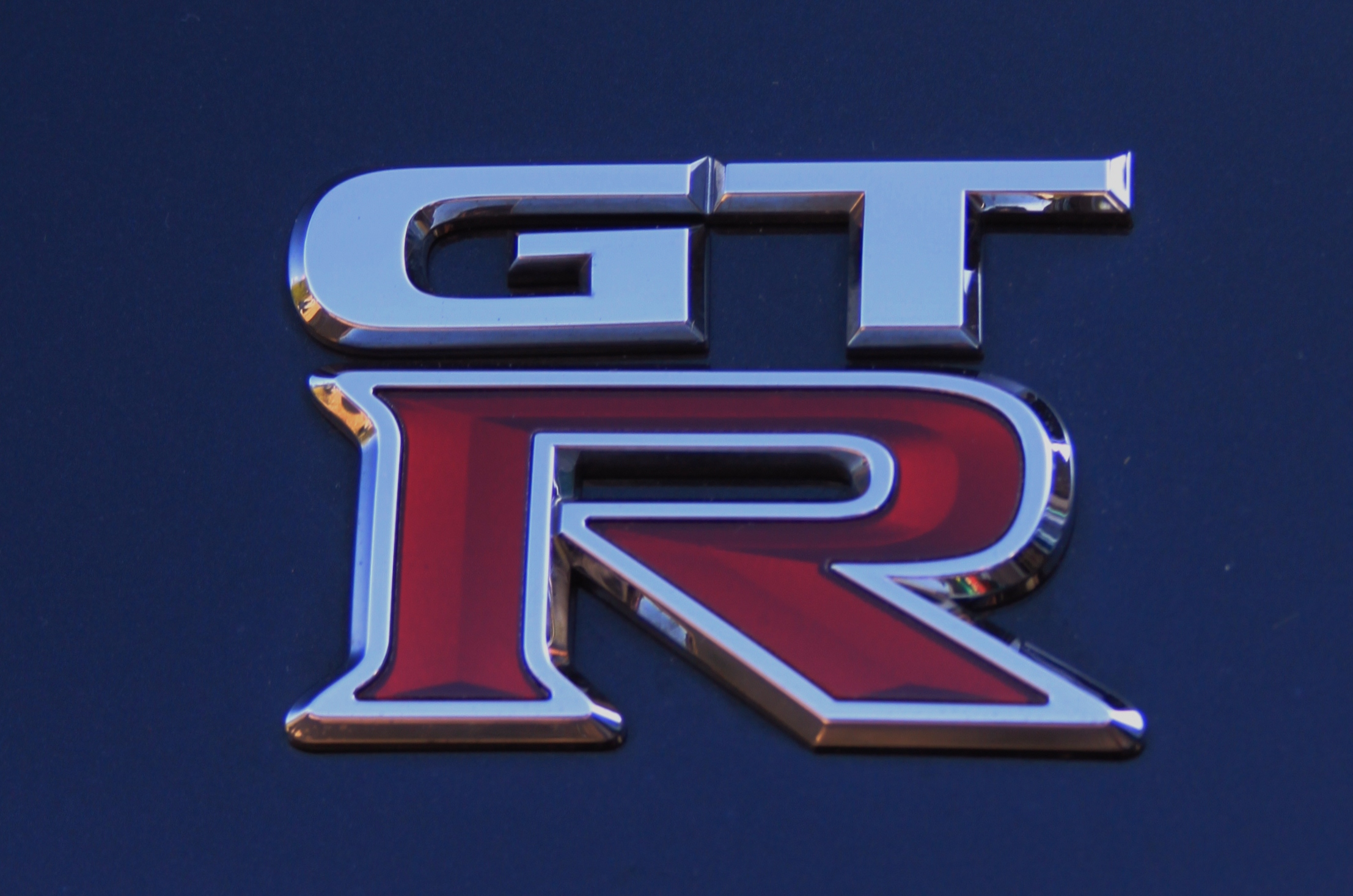 Nissan GTR 2012 R35 Black Edition Badge