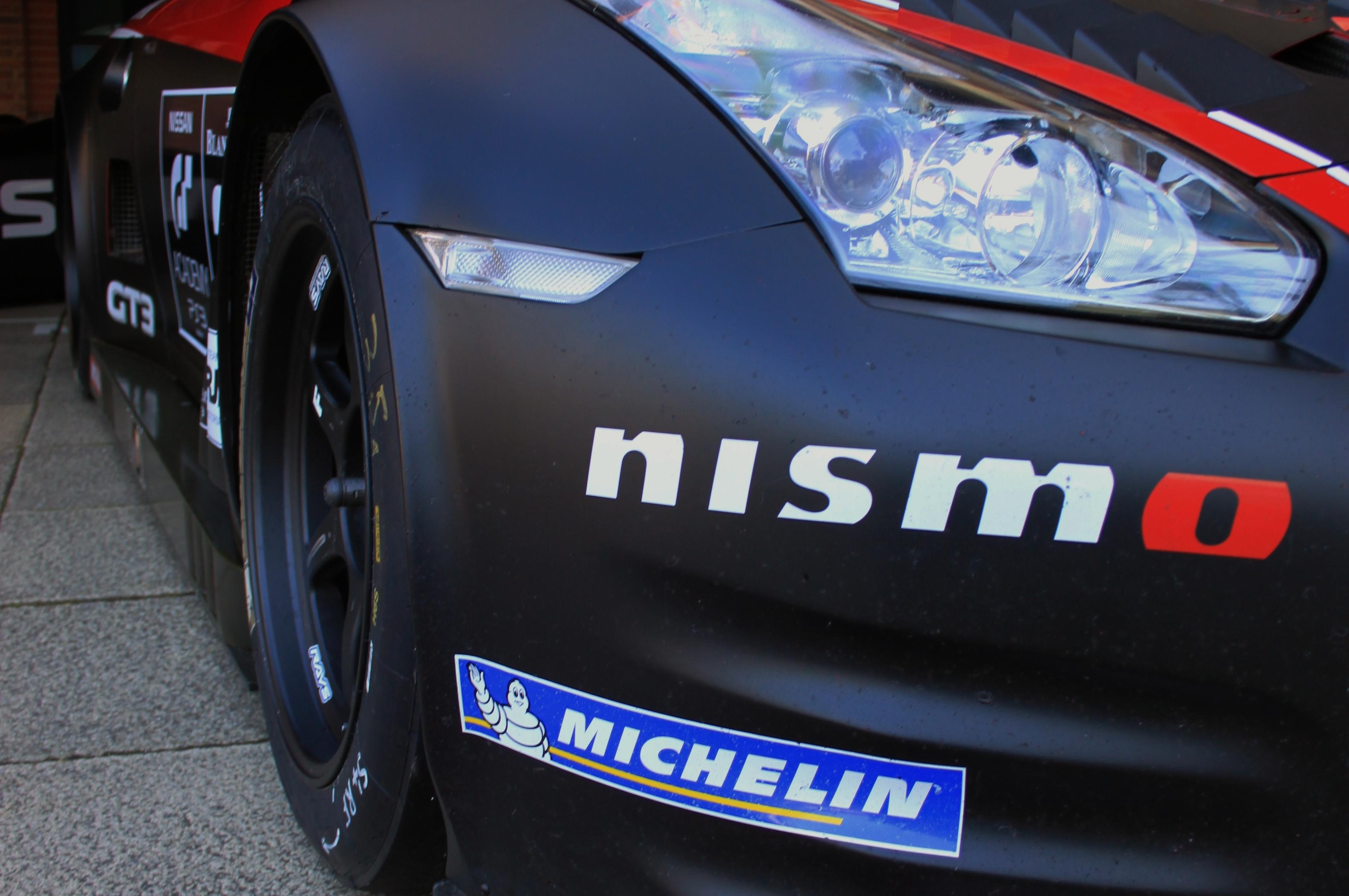 Nissan GTR GT3 2012 Front light