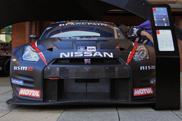Nissan GTR GT3 2012 Front low - preview