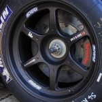 Nissan GTR GT3 2012 Front wheel and brake