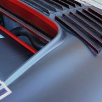 Nissan GTR GT3 2012 bonnet vents and radiator