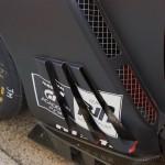 Nissan GTR GT3 2012 nearside vents details