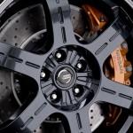 Nissan GTR Track Pack Edition 2012 Alloy wheel and brake setup detail