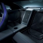 Nissan GTR Track Pack Edition 2012 Rear Seat Removal quilted mats