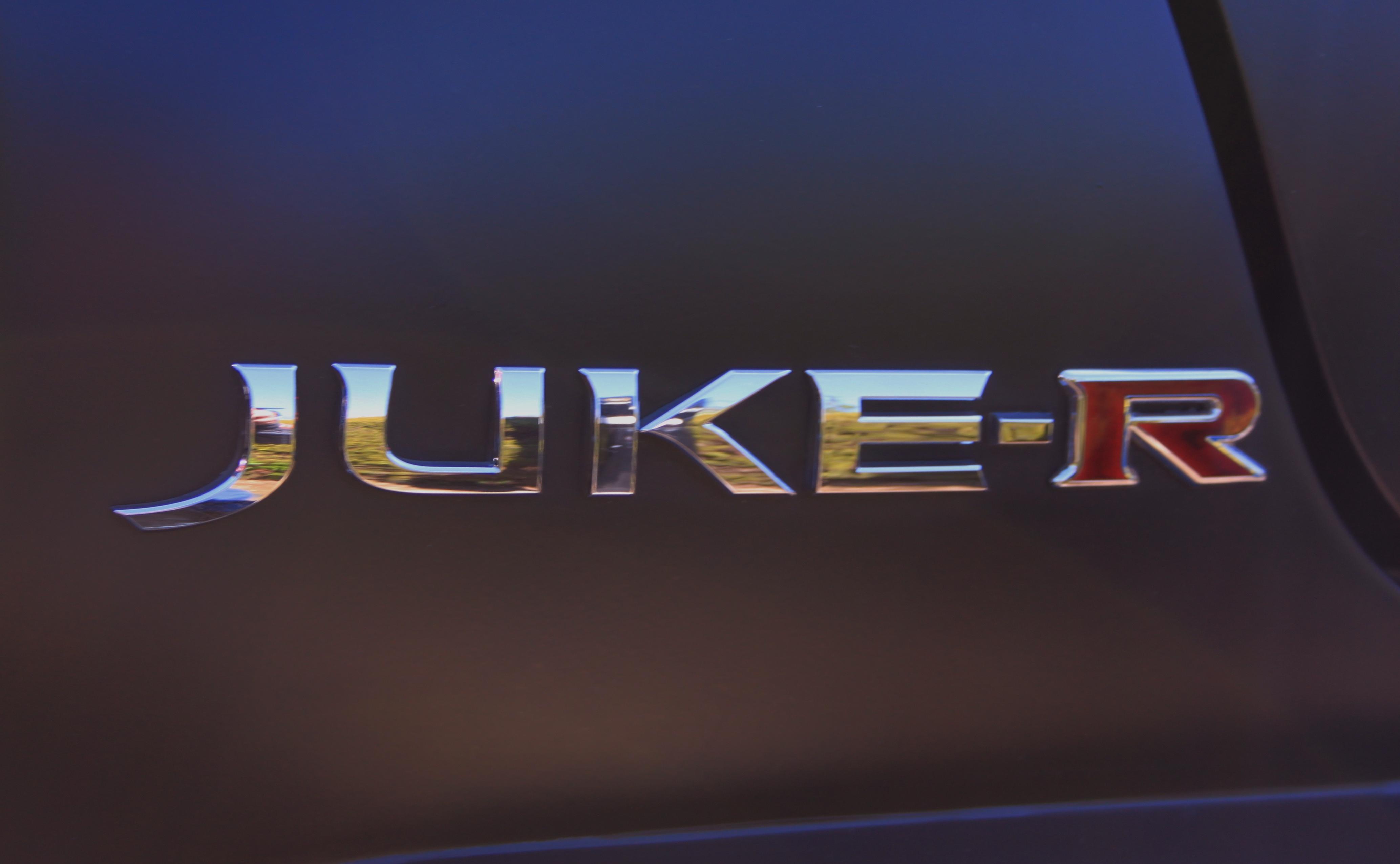 Nissan JUKE-R 2012 GTR Badge