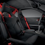 Porsche 911 GT3 RS 4.0 Blacked Out Interior Suede