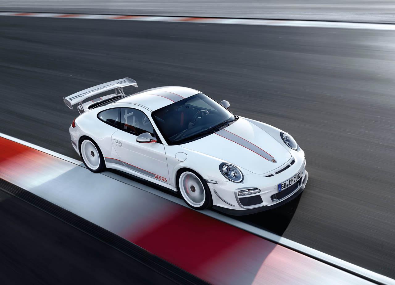 Porsche 911 GT3 RS 4.0 Front OS Overhead