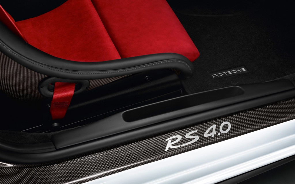 Porsche 911 GT3 RS 4.0 Limited Edition Door Sill Carbon | Revival ...