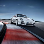 Porsche 911 GT3 RS 4.0 Low Front Track View Speed