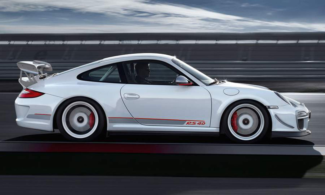 Porsche 911 GT3 RS 4.0 OS Side View Low Moving