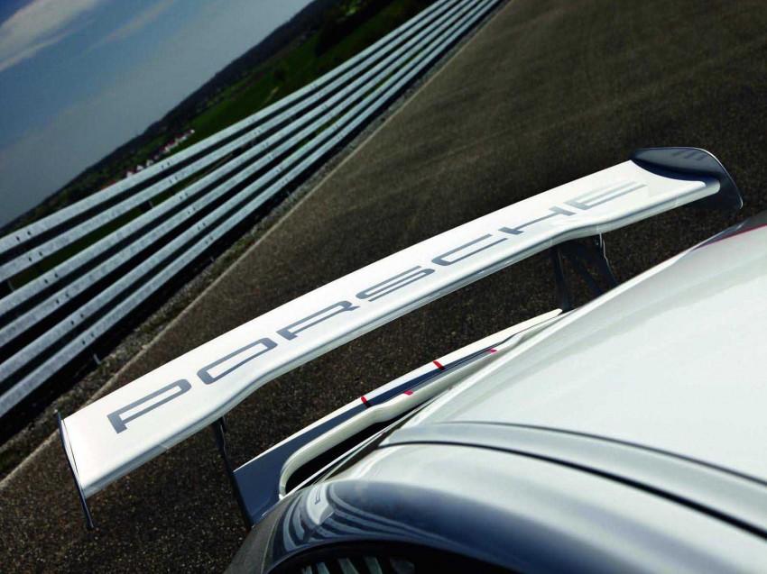 Porsche 911 GT3 RS 4.0 Rear Spoiler Logo