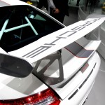 Porsche 911 GT3 RS 4.0 Rear Wing and engine vents with roll cage