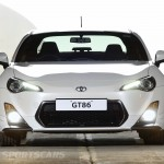 Toyota GT86 TRD upgrades UK 2013 front detail