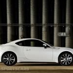 Toyota GT86 TRD upgrades UK 2013 side profile detail