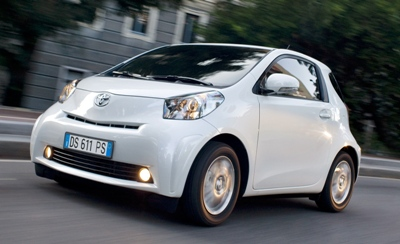 Toyota IQ  free road tax and london congestion