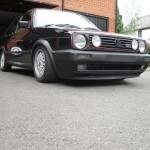 VW Golf GTI 1.8 mk2 - BBS RA 15' Alloy wheels with FK Coilovers