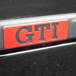 VW Golf GTI 1.8 mk2 - badge closeup