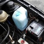 VW Golf GTI 1.8 mk2 - engine bay bottles