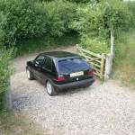 VW Golf GTI 1.8 mk2 final nsr distance