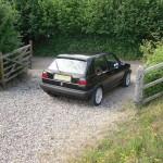 VW Golf GTI 1.8 mk2 final osr distance