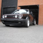 VW Golf GTI 1.8 mk2 ns front
