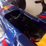 Vettel 2010 F1 Car RB6 in Mayfair London - ns cockpit