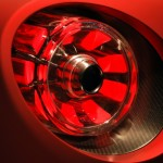 Alfa Romeo 4C Carbon Rear Light detail