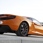 McLaren MP4-12C 2012 bright orange PP7 rear