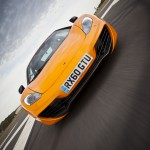 McLaren MP4-12C 2012 bright orange speed front profile