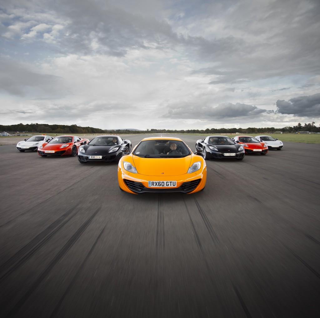 McLaren MP4-12C 2012 colour range airstrip speed