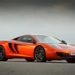 McLaren MP4-12C 2012 orange low front