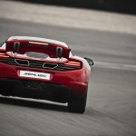 McLaren MP4-12C 2012 red airbrake airstrip