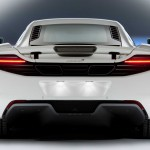 McLaren MP4-12C 2012 white rear light profile