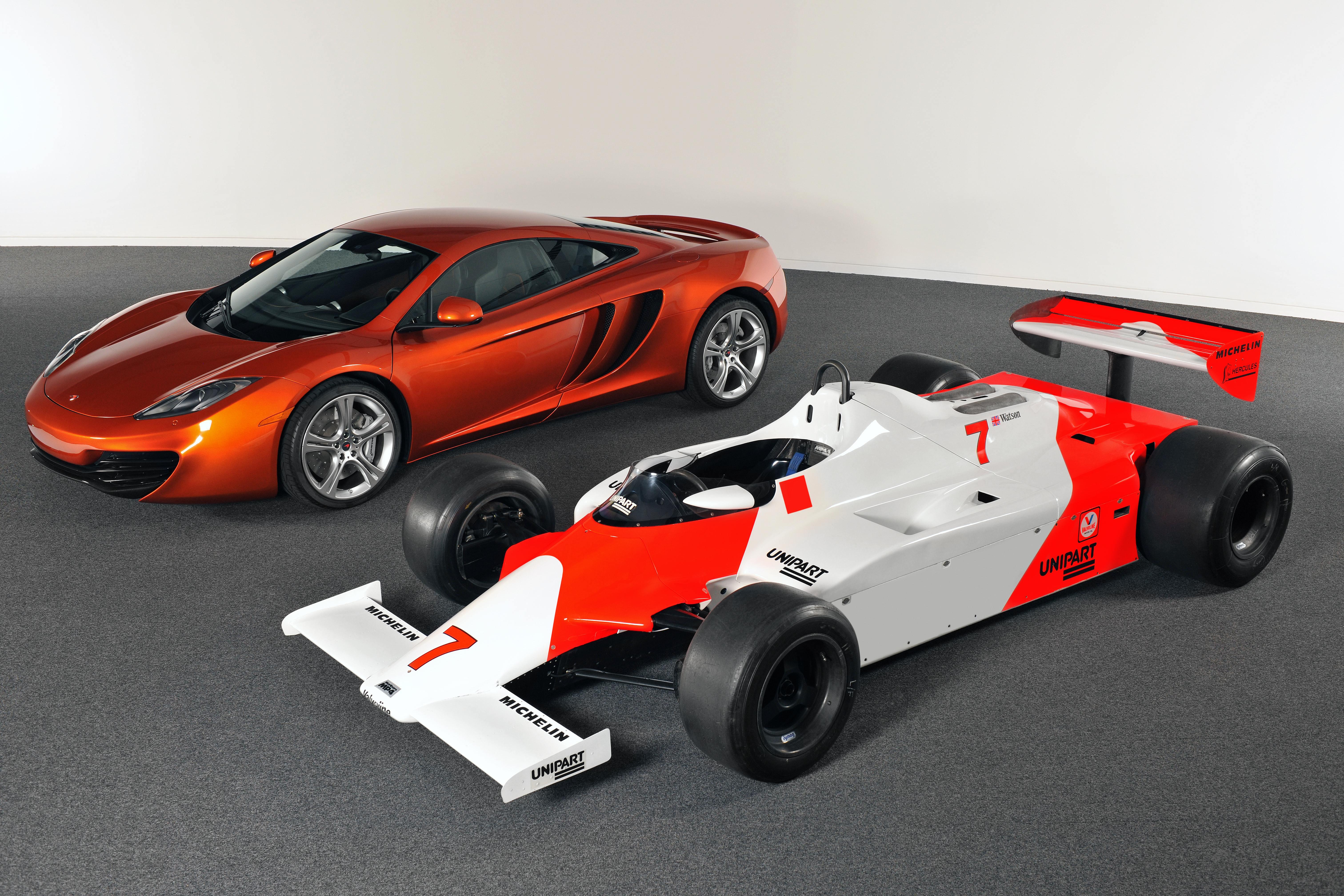 McLaren MP4-12C 2012 with MP4-1