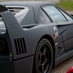Ferrari F40 1988 Carbon Black side